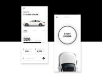 Daily UI - Car App interface
