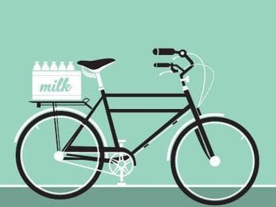 A simple bicycle