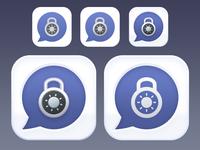 Titanium messenger icon