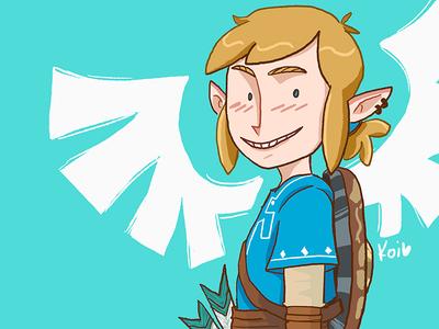 Ya boi, Link illustration characters breath of the wild fanart legend of zelda link