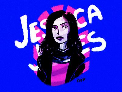 Jessica Jones characters woman hella strong fan art marvel comics jessica jones illustration