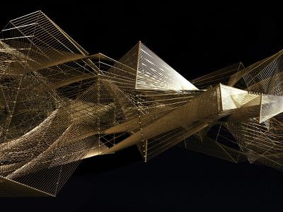 Bolder Creative - Pete Tong pete tong shapes geometric gold contemporary 3d mograph boldercreative wearebolder
