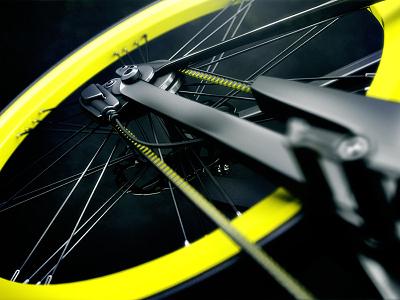 Bolder Creative - Piaggio E-Bike chain wheel gears bike shapes geometric contemporary 3d mograph boldercreative wearebolder