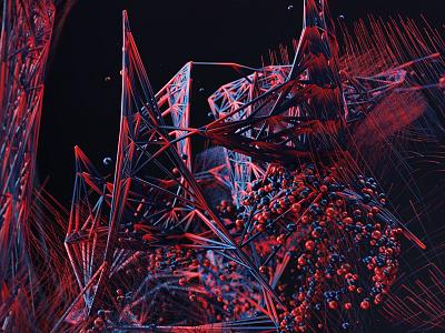 Creative Explorations - Motion Capture geometric motion capture experimental sports basketball contemporary 3d mograph bolder creative we are bolder