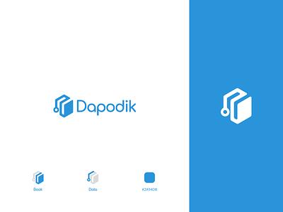Dapodik Logo Redesign data design idendity dapodik education branding logo