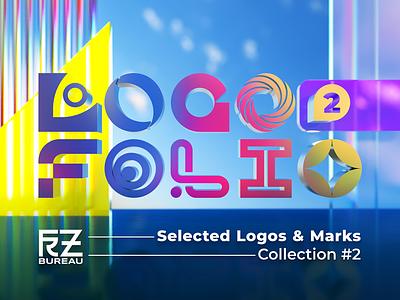 Logofolio Cover illustration vector typography icon logo design branding