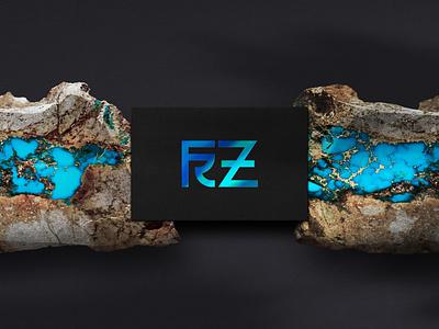 FRZ - personal logo vector logo design branding typography icon
