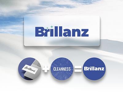 Brillanz logo vector logo design branding typography icon