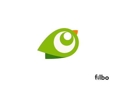 Filbo   icon bird icon cute bird bird travel colorful logo design identity icon logo branding