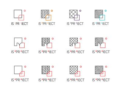 ISOProiect - logo variations textures patterns branding architecture interior design design icon identity logo