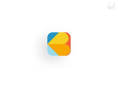 Bucharest City App Rebranding   Icon logo design icon app branding bucharest app tourism tourist pattern logo identity icon