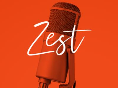 Zest Podcast Identity