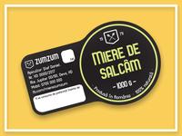 Honey Jar Labels - updated