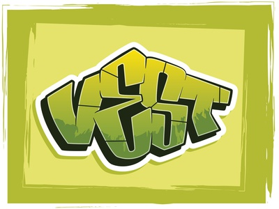 Vest - Digital Graffiti