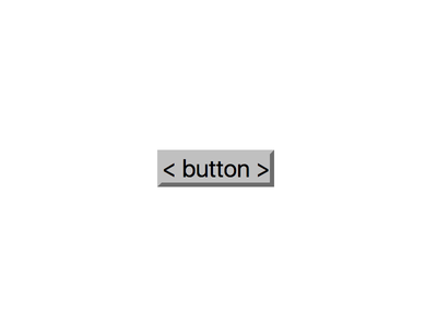 Grey Button with Black Text on White Background minimal alpha four bootstrap button