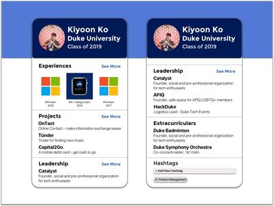 Daily UI Challenge 6 - Profile
