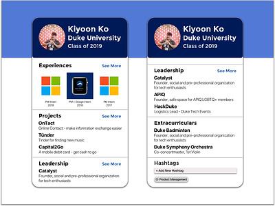 Daily UI Challenge 6 - Profile profile dailyui006 dailyuichallenge dailyui