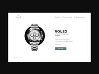 Rolex Website