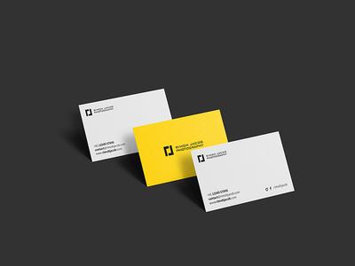 Rimoh Jacob Photography - Business Card Design