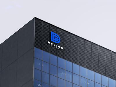 Deligo Global - Logo Sign Board