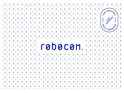 Robocom logo design