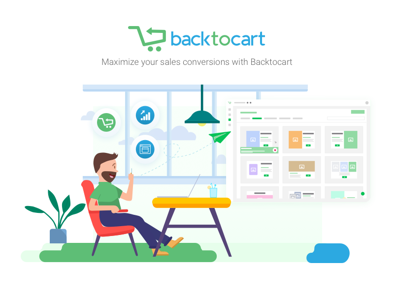 Backtocart - web app web app interface design web design shot illustration graphic design ui