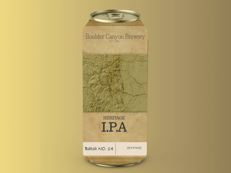 boulder creek brewery mockup