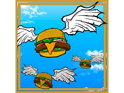 Bobs Burger Paniting