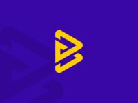 B Letter Monogram Logo Design!