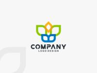 Sprout Leaf Tree Green Logo Design!