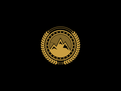 Mountain Emblem Logo Design!
