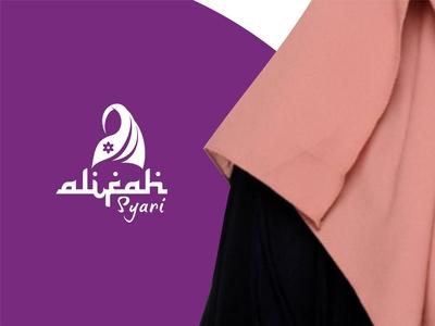 Alifah Syar'i Logo Design