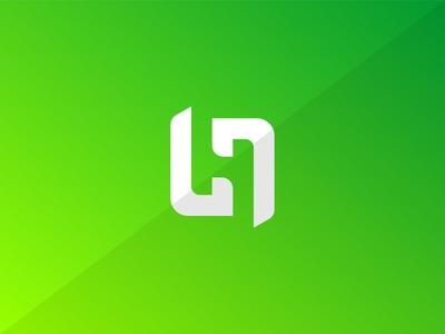 Monogram H Letter Logo Design