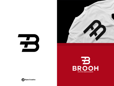 Brooh Logo Design - Distro Makassar Indonesia.
