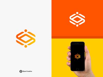 Cubic Outline Logo Design