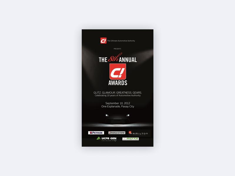 C! Magazine Biggest Annual Celebration collateral marketing collateral marketing magazine cars c magazine
