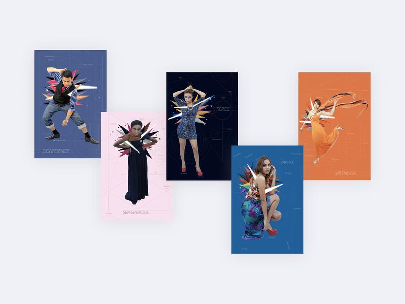 Self-Esteem Ad Campaign campaign graphicdesign photography magazine