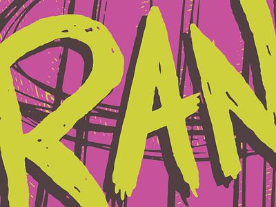 Volume Poster 2019 WIP punk illustration wip poster design poster