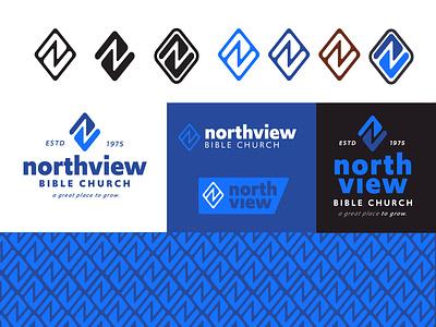 Northview BC Explorations design branding logo