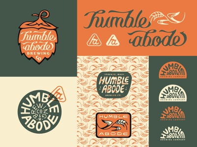Welcome to My packaging type typography patch lettering branding design badge logo illustration