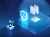 Cyber Protection Illustration for Acronis
