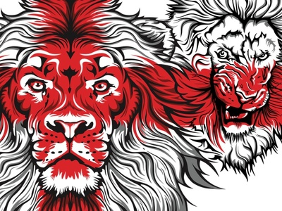 3 Lions T-Shirt design