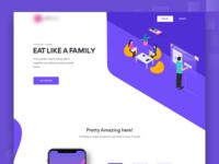 Marketing Page Illustration