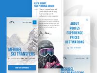 Meribel Ski Transfers – Mobile Views