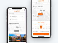 easyJet Mobile App – Redesign Concept – Sneak Peek