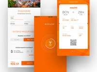 easyJet Mobile App – Redesign Concept – Checkout