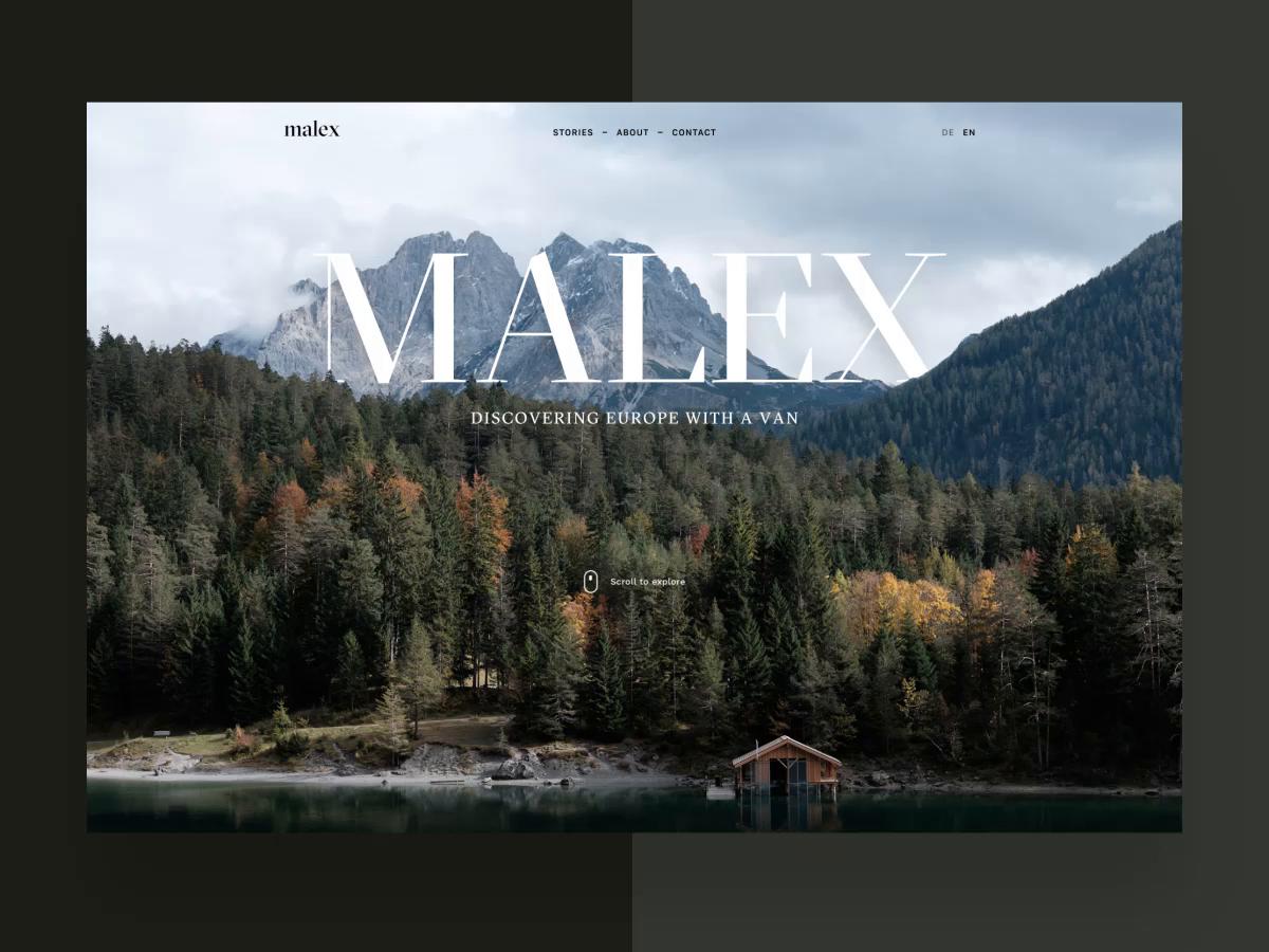 Malex travel blog motion simonkratz