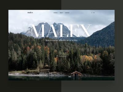 malex - Travel Blog - Motion Exploration