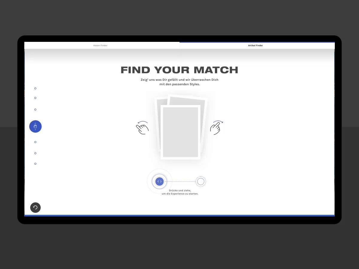 Discovery mode carharttwip interactive table simon kratz