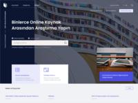 Ferit Melen Library #Redesign